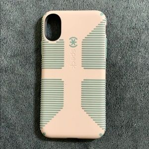 Accessories - rose pink and mint phone case